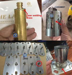 kontinuierliches aus optischen Fasernlaser-Schweißgerät des Edelstahl-500W