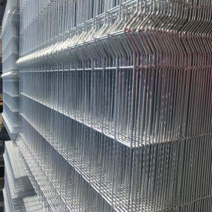 Valla de flexión soldado curvo en 3D cerca del panel de malla de alambre soldado