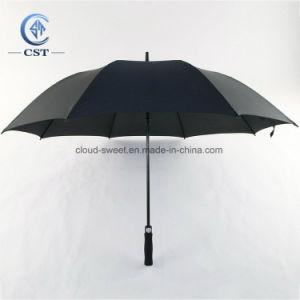 2019의 관례 선물 또는 승진 옥외를 위해 우산을 광고하는 똑바른 골프 비 또는 일요일 (방풍)