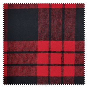 Mj-Wf035D008, el reciclaje de lana, tejido de lana Melton, verificar el patrón, el adecuado para untar, falda, pantalón corto