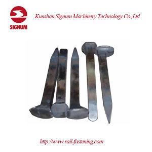 Clip de chemin de fer de la tête en forme de T VOIE Vis pour collier de serrage
