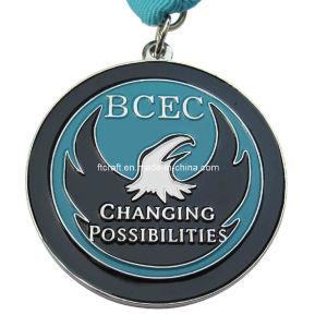 Eagle Medalhão de esmalte suave de Honra