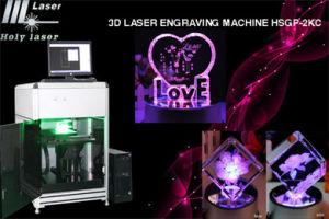 Laser Engraving Machine de la fréquence 3D
