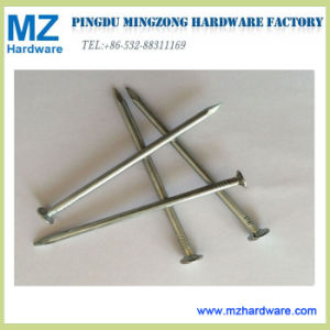 Helle geläufige Poliernägel galvanisierten geläufige Nagel-Draht-Nägel
