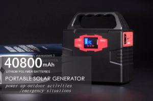 HochleistungssolarStromnetz-beweglicher Solargenerator 40800mAh