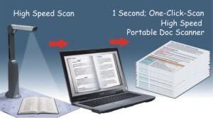 휴대용 문서 스캐너 S500L 의 Eloam 상표, Suppport 최대 A4