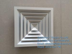 Aller Größen-Temperaturüberwachung-Quadrat-Luft-Diffuser (Zerstäuber)