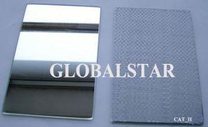 1.1Mm 8mm en aluminium clair et coloré Miroir, miroir de l'argent, cuivre libre Miroir, miroir de verre de couleur, le vinyle soutenu pour la construction de Miroir de sécurité