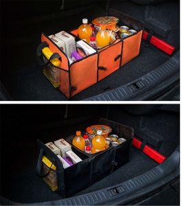 Impermeable Plegable Multiuso organizador del maletero del coche con enfriador portaherramientas