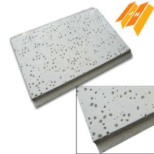 Fibre minérale acoustique Fire-Resitance Panneau au plafond