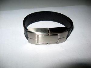 Обложка из натуральной кожи флэш-накопитель USB (OM-L811)