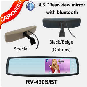 Rearview Spiegel met Bluetooth (rv-430SBT)