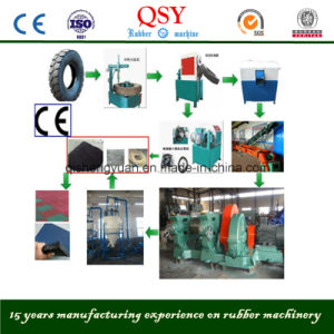 Tire residuo Recycling Plant per Rubber Powder