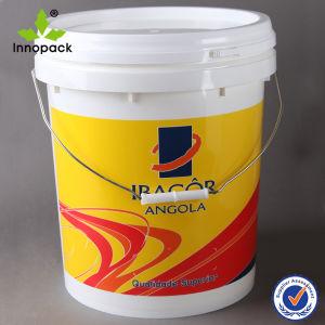 20L o estilo geral de PP Grau Alimentício balde plástico para pintar