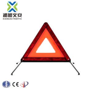 Triângulo de Aviso reflexivo de emergência em auto-estrada para carros elevadores