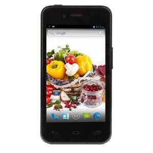 4 Polegadas cartões SIM Dual Standby Dual 512M com 4 GB de RAM com núcleo duplo da ROM Mtk6572 Smartphone 4.2 Android