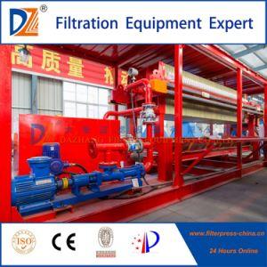 2017 Programa de alta presión Filtro de membrana de prensa