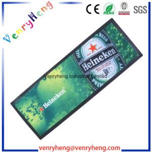 Goma Non-Woven personalizados alfombrilla para regalo de promoción de la barra de cerveza