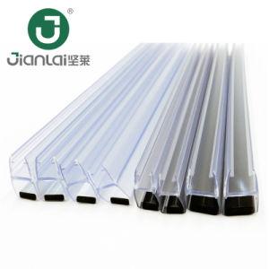 Striscia impermeabile di sigillamento del PVC della striscia del PVC del portello di vetro dell'acquazzone