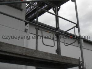 Steel Layher Speedy Fachada Andaimes para configuração fácil