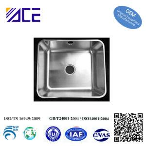 Dispersore di cucina in profondità dissipato personalizzato OEM delle parti dell'acciaio inossidabile di alta qualità