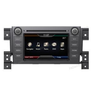GPSの鈴木Grand Vitaraのための6.2インチCar Audio Stereo System Accessories、Automotive DVD及びBluetooth及びRadio及びNavigator及びiPod及びTV及びUSB