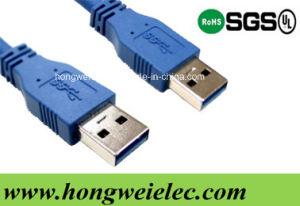 Un mâle de type d'un mâle de type fil de rallonge câble USB 3.0