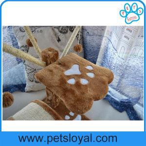 Árvore do gato da mobília do animal de estimação da alta qualidade do fabricante com esfera