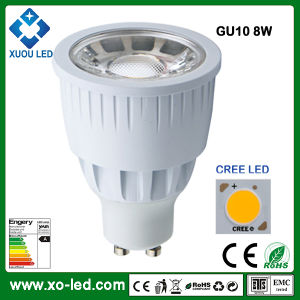 30 Grad CREE Chip GU10 8W LED 2700k Dimmable Spot Lamp