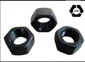 Le noir de carbone de l'acier ASTM A563 de l'écrou