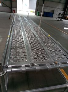 Galvanisierte Stahlplanke/Vorstand für Baugerüst