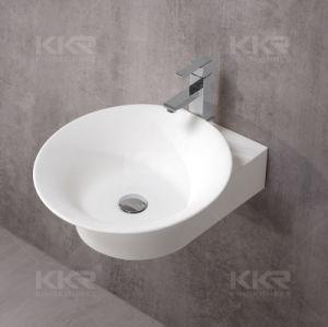 El cuarto de baño en la pared occidental Lavabo