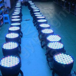 Hochzeits-Dekoration RGBW LED NENNWERT Licht des Stadiums-120X3w