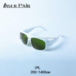 Óculos de segurança elevada protecção para o IPL + Shr Removallaser Cabelo  Lipoipl tratamentos a Laser com a cor branca b25650a7d7