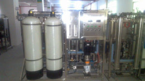 1000lph het Omgekeerde Systeem Osimosis van het water/de Installatie van de Apparatuur van de Behandeling van het Water/van de Behandeling van het Water