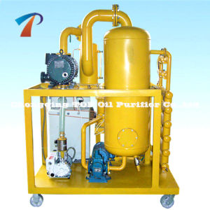 Vacío de acero inoxidable de purificación de aceite de transformadores (ZYD-150) con alta tensión