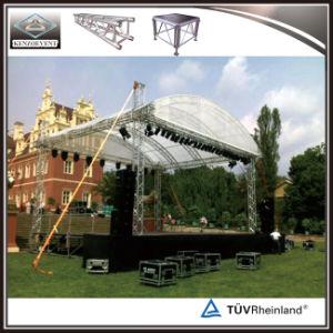 屋外段階のトラスアルミニウムによってアーチ形にされる屋根のトラス