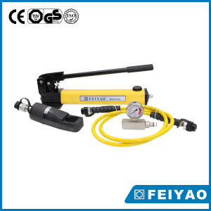 Bomba hidráulica manual con el calibrador Liviano La bomba hidráulica manual de herramientas hidráulicas