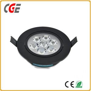 O LED de luz LED Spotlights preto mais populares centros comerciais da luz para baixo, Office Use 7W/9W12W Refletor LED