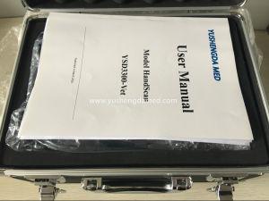 Marcação dos equipamentos de ultra-som portáteis totalmente digital scanner de ultra-sonografia veterinária