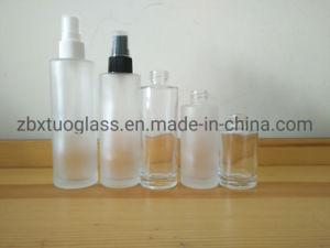 スプレーヤーの帽子との供給の丸型の香水瓶のガラスビン30ml 50ml 60ml 85ml 100ml
