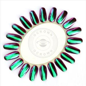 Het glanzende Pigment van het Kameleon van het Poeder van de Flikkering van de Spiegel van het Chroom voor Manicure