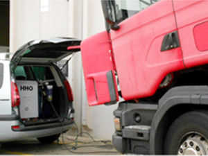 Hho генератор двигатель автомобиля углерода поверхностей машины