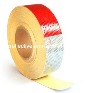 De rode & Witte Weerspiegelende Band van de Sticker van de Vrachtwagen