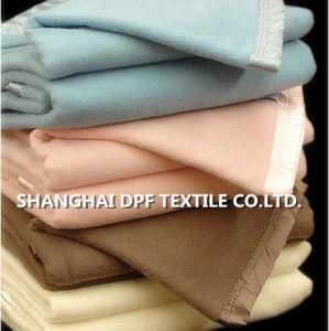 ホテル、病院、看護、飛行機のための卸し売り工場価格ポリエステル毛布