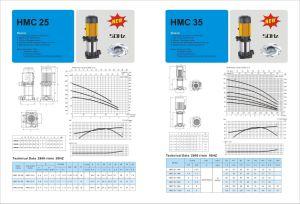 Alta qualidade de bomba Multiestágio Vetical (CDL, série HMC)