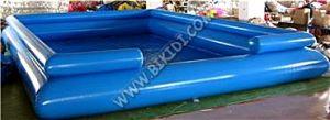 Het grote Opblaasbare Zwembad voor de Ballen van het Water, borrelt Opblaasbare Pool