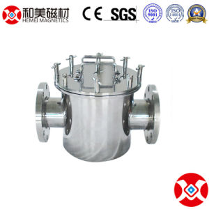 10 van de Fabriek jaar Gas van de Pijpleiding van het Vloeibare/de Magnetische Separator van het Vlekkenmiddel van het Ijzer