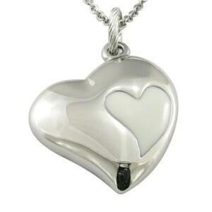 Monili Pendant dell'acciaio inossidabile del regalo di Chirstmas del cuore