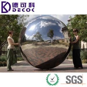300mm 250mm 200mm 150mm Esferas ocas de aço inoxidável do Espelho